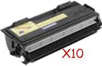 Cartouche de toner (Lot de 10) compatible BROTHER (6000 pages) équivalent à TN6300 / TN6600 pour BROTHER MFC 9850