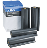 PC-104RF : Lot de 4 rubans de transfert thermique (4 x 700 pages) de marque Brother pour BROTHER MFC 1850 MC