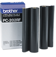 PC202 RF : Ruban transfere thermique (2 x 420 pages) de marque BROTHER pour BROTHER MFC 1970 MC
