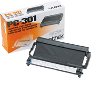 PC-301 : Cartouche pour fax (ruban) (250 pages) de marque Brother pour BROTHER 800SERIES