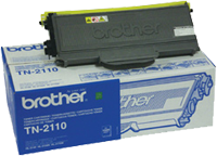 TN2110 : Cartouche de Toner Laser BROTHER (1500 pages) Noir (black) pour BROTHER MFC 7840W